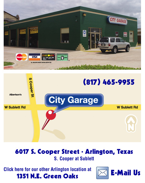 City Garage Euless Texas